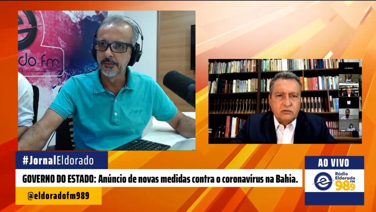 Lockdown Bahia Tem Restricao Total De Atividades Nao Essenciais A Partir De Sexta Feira Radio Eldorado Fm